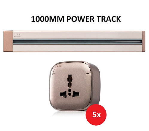 Shubox 1000mm Power Track Bundle A