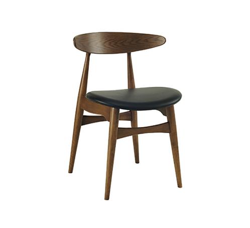Tricia Dining Chair - Walnut, Espresso
