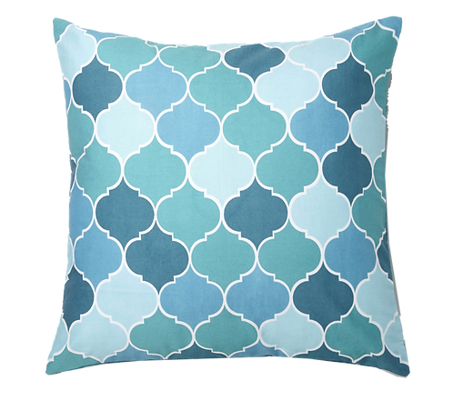 Melze Cushion Cover - Teal