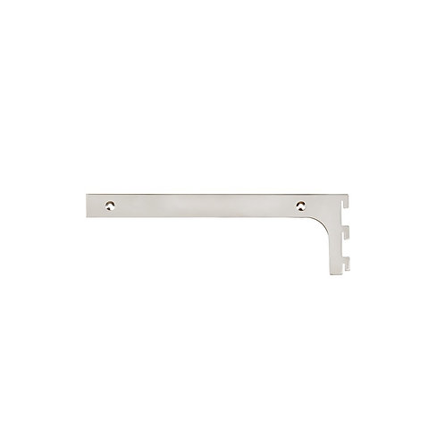 MAXE 300 MM SHELF BRACKET SET WITH SCREWS & TOOL 300 L X 2.5MM THICK