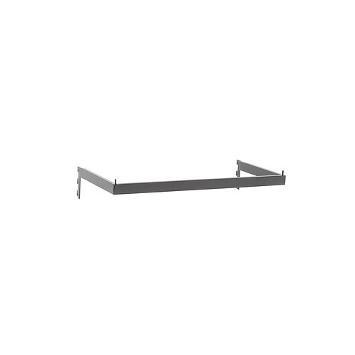 MAXE HANGRAIL RECTANGULAR SECTION TO FIT 600MM BAY 598 L X 273MM D