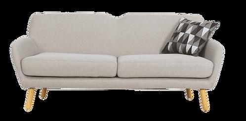 Joanna 3 Seater Sofa - Pale Silver