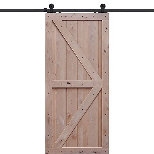 Shubox Double Z Two Panel Barn Door