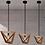 Thumbnail: Geometric Wood Pendant Lamp