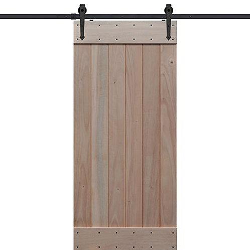 Shubox Plank Barn Door