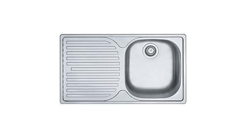 FRANKE kitchen sink top mount single bowl - PFX611B