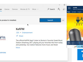 KefiFM app now on Windows Store