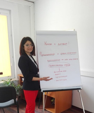 """Trainings in Bulgaria -  """"CYCLES - Child and Youth Caretakers Financial Literacy and Entreprene"""