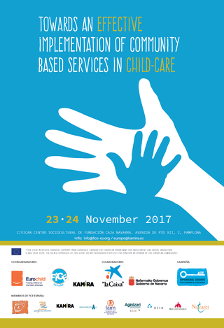 Towards an effective implementation of community-based services in the system of child care - confer