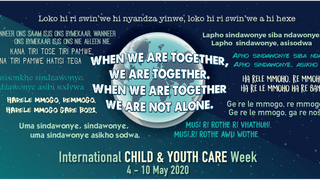 International Child and Youth Care Week - day 2