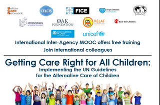 Second round of free online training course Getting Care Right for All Children