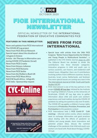 FICE Newsletter, October 2020