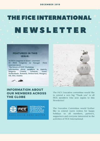 FICE Newsletter December