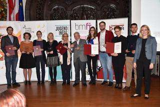 "International youth exchange ""Be the change"" awarded a prestigious award!"