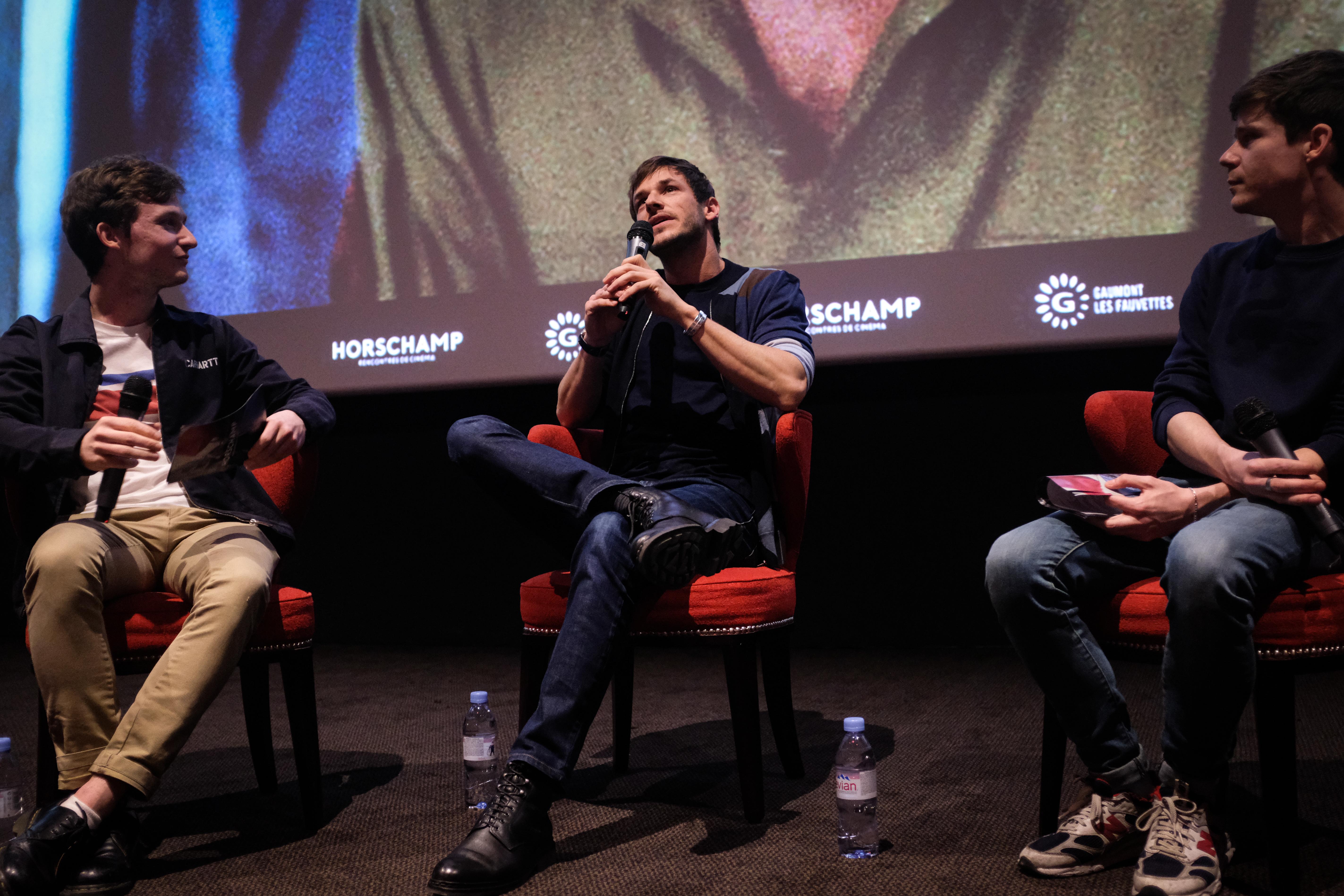 Léolo Victor-Pujebet, Gaspard Ulliel et Mathieu Morel