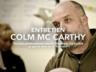 """Colm McCarthy """"Je crois profondément que les films sont à la société ce que le rêve est à l'ind"""