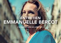 """Emmanuelle Bercot """"Le mystère crée une addiction"""""""