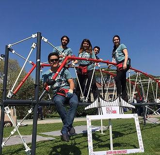 AIU steel bridge team.jpg