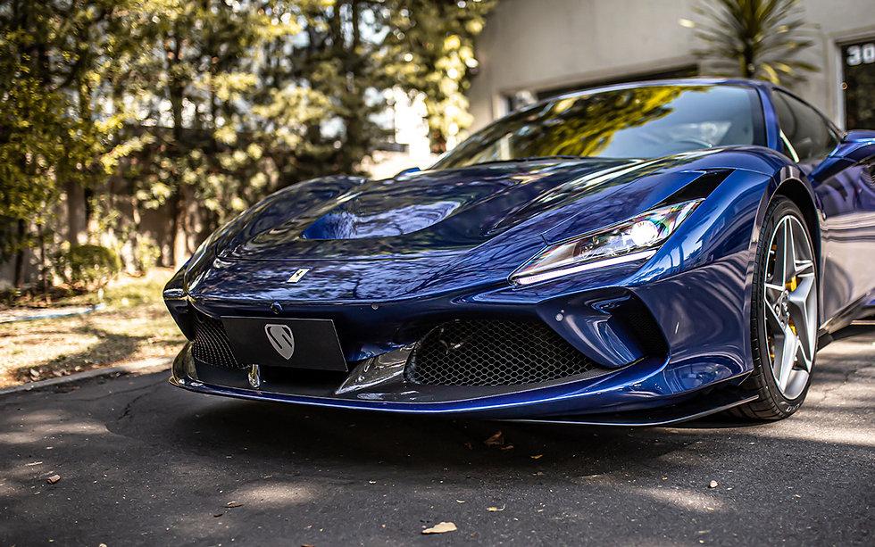 Ferrari F8 Tributo Blu TDF V8 BiTurbo