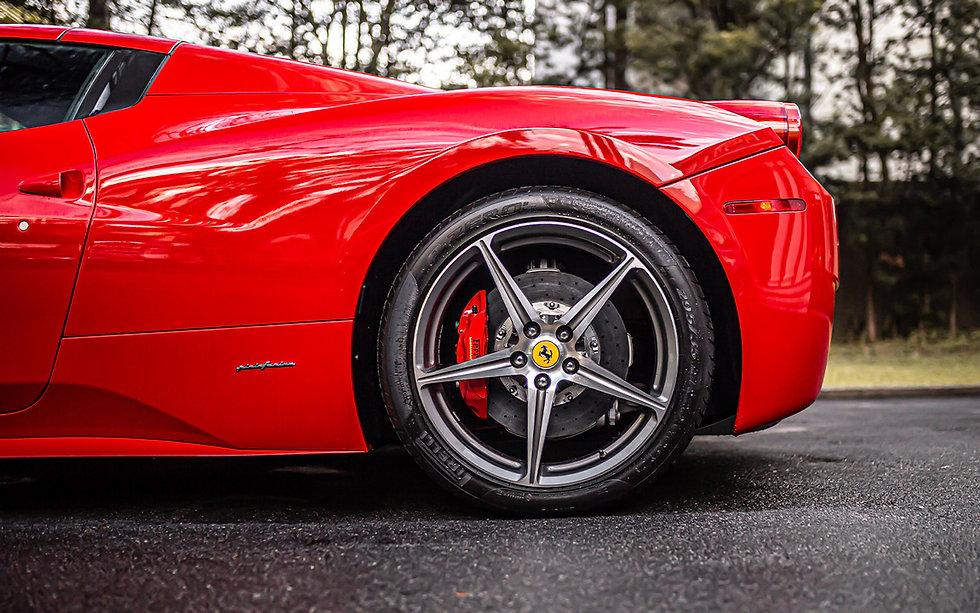 Ferrari 458 Spider V8 Rosso Corsa