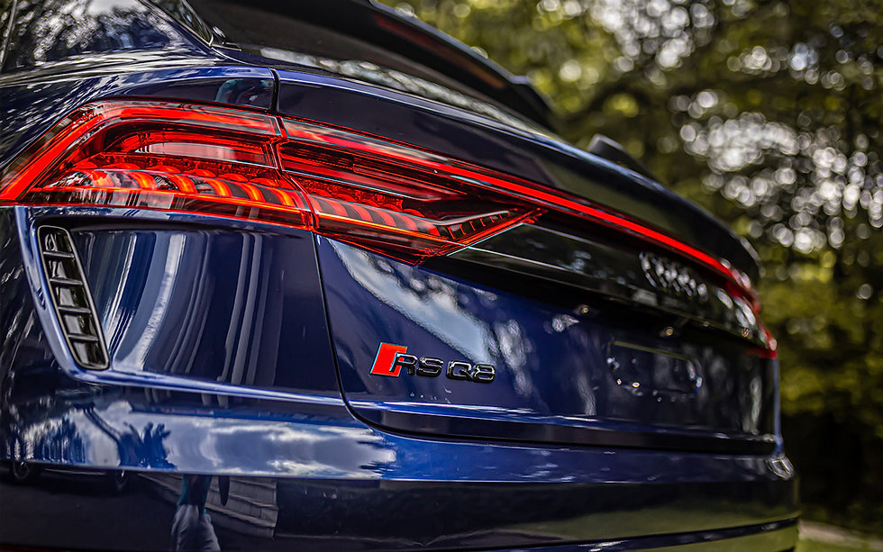 Audi RSQ8 Azul Navarra