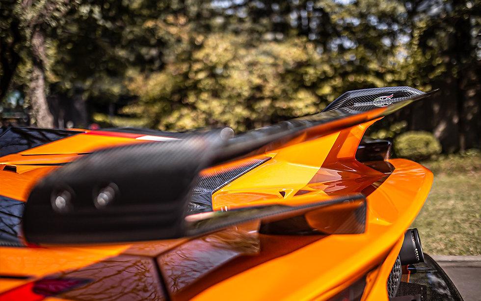 Lamborghini Aventador LP 770-4 SVJ Roadster Arancio Atlas