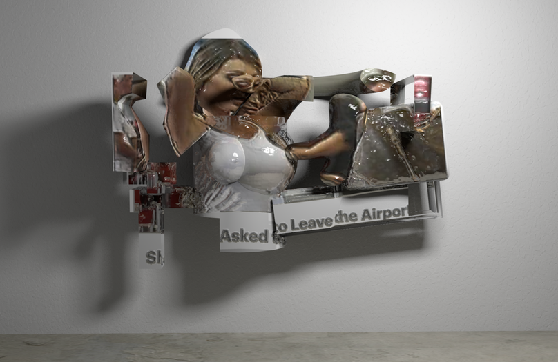 LEAVE AIRPORT