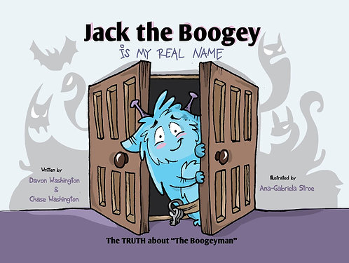 Jack the Boogey Is My Real Name - 3 PACK