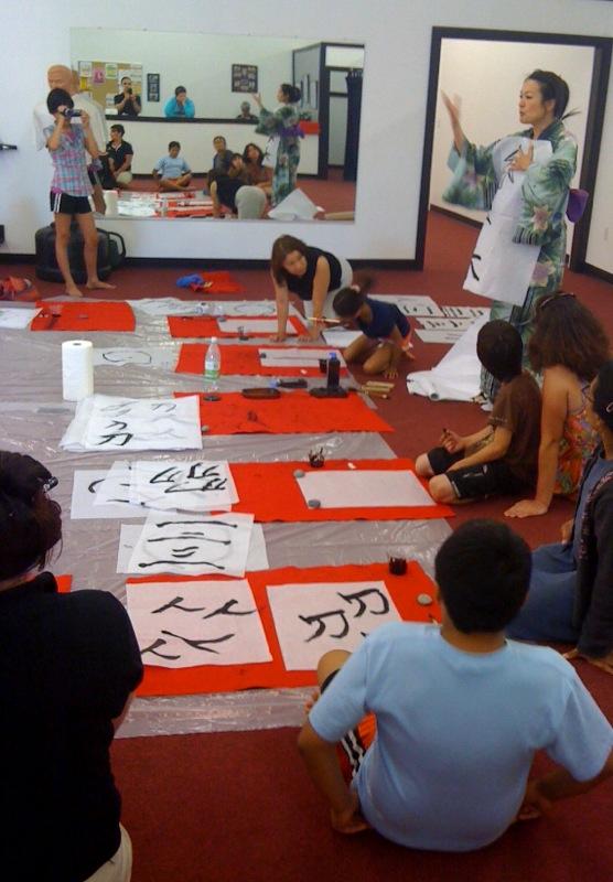 Calligraphy workshop for kids
