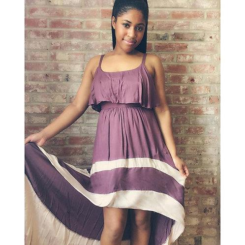 EVE  High-Low Dress