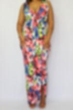shopxochic.com - Queen B chiffon color block top