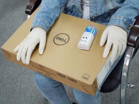 Ноутбуки вручили социально уязвимым школьникам в столице