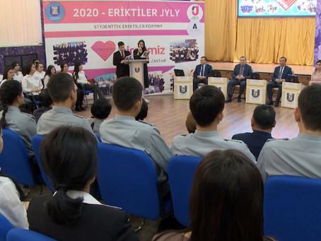 В Талдыкоргане пополнились ряды волонтеров