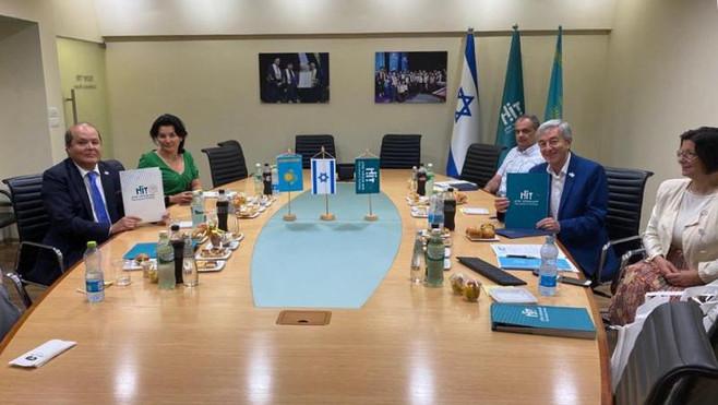 Университеты Казахстана и Израиля укрепляют связи