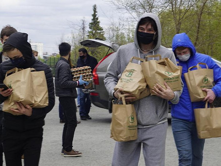 Казахи Тюмени в условиях пандемии помогают студентам из Казахстана