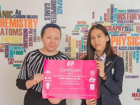 Павлодарка лучше всех среди казахстанских школьников владеет английским языком