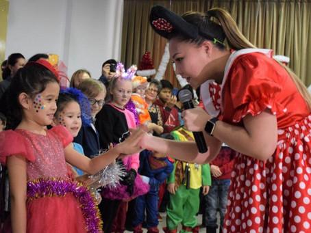 Благотворительная ёлка Ассамблеи народа Казахстана прошла в столице