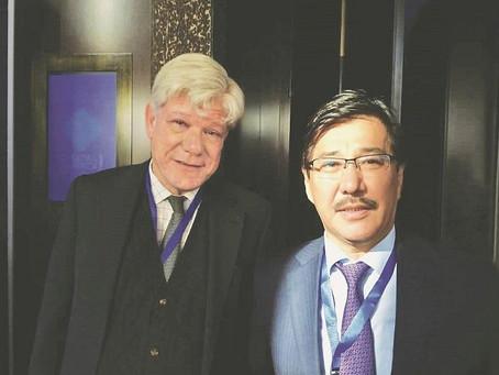 Ректор КазНУ встретился с заместителем Генерального секретаря ООН