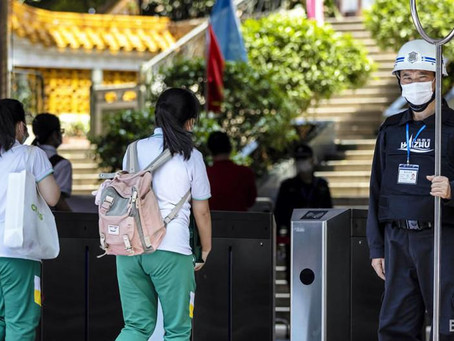 В Китае разрешили школьникам не носить маски