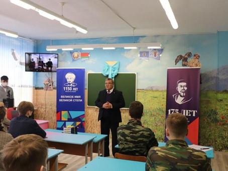 В минской школе открыт кабинет изучения казахского языка, истории и литературы
