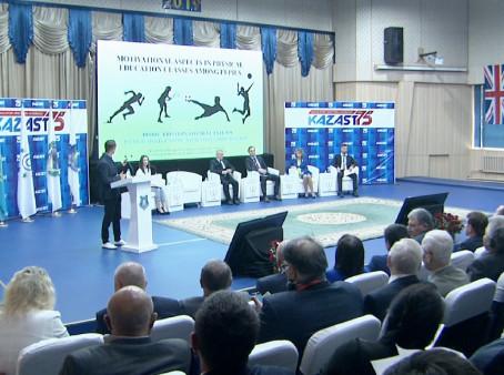 Қазақ спорт және туризм академиясында жас ғалымдар конференциясы өтті