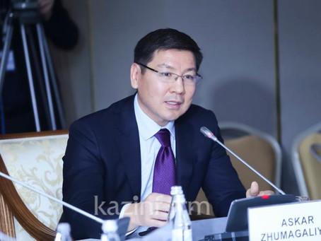 Аскар Жумагалиев обсудил перспективы обучения казахстанских IT-специалистов с «Amazon Web Services»