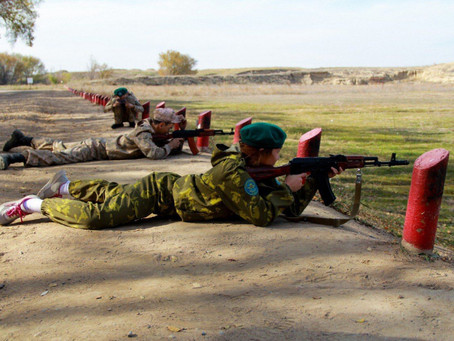 Военно-полевые сборы со школьниками проходят в Алматы