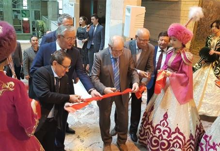 Выставка в честь юбилея Института искусств, культуры и спорта КазНПУ имени Абая
