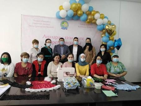 Многодетных мам и женщин с инвалидностью бесплатно обучат швейному делу в Атырау