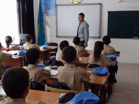 В 15 школах ЗКО начали работать классы «Жас сарбаз»