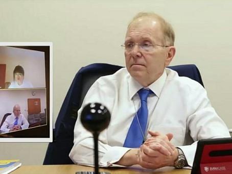 Посол США в РК Уильям Мозер не пропускает уроки казахского языка