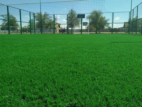 Новые спортивные площадки открываются в школах Теректинского района ЗКО