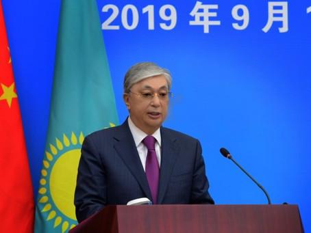 Выступление Президента Казахстана Касым-Жомарта Токаева в Китайской академии общественных наук