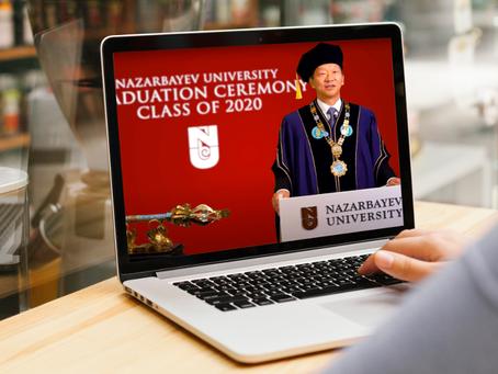 Назарбаев Университет провел виртуальную церемонию вручения дипломов выпускникам